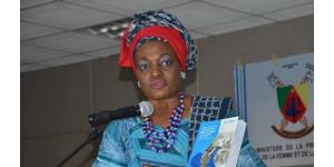 Pr. Justine DIFFO TCHUNKAM, Universitaire multi-casquettes et fervente militante de l'implication des femmes en politique