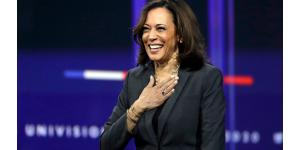 Présidentielle 2020: Kamala Harris veut donner le ton