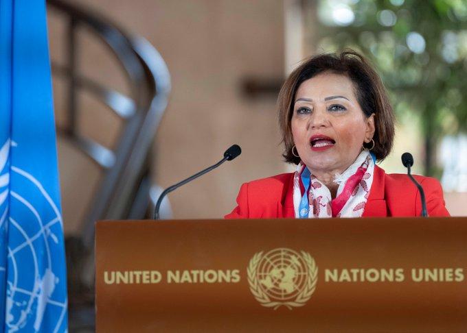 La Marocaine Najat Rochdi, Coordonnatrice Spéciale Adjointe de l'ONU pour le Liban