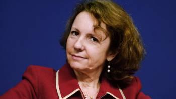 Marie-Ange Debon, nouvelle pr/u00e9sidente du directoire de Keolis. ERIC PIERMONT // AFP