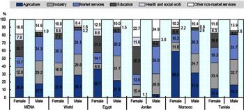 COVID‑19 dans la région MENA : impact sur les inégalités de genre et réponses apportées en soutien aux femmes