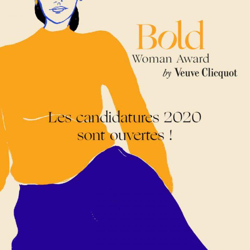 Participez au Bold Woman, Future et Champion Award de Veuve Clicquot du groupe LVMH