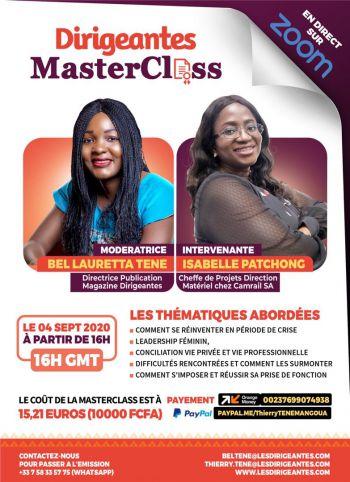 Dirigeantes MasterClass (DMC) Live : Business, Management, Leadership et Réseautage