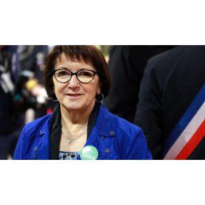 La présidente de la FNSEA Christiane Lambert, première femme élue à la tête du principal syndicat agricole européen