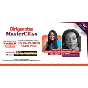 Dr. Gisèle ETAME LOE, CEO de GENEMARK, intervenante à la Masterclass du Vendredi 25 Septembre