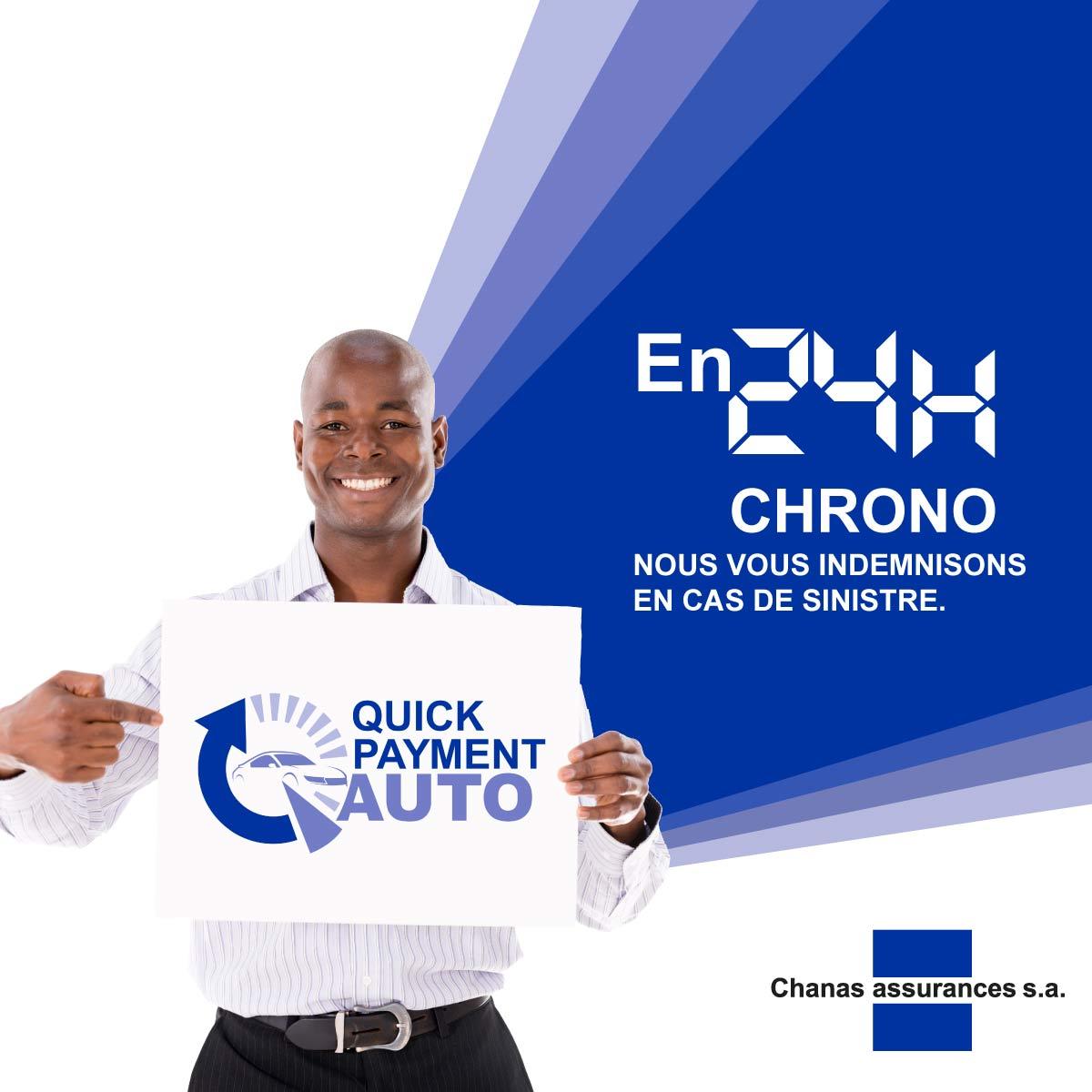 Chanas Assurance Quick Payment Auto