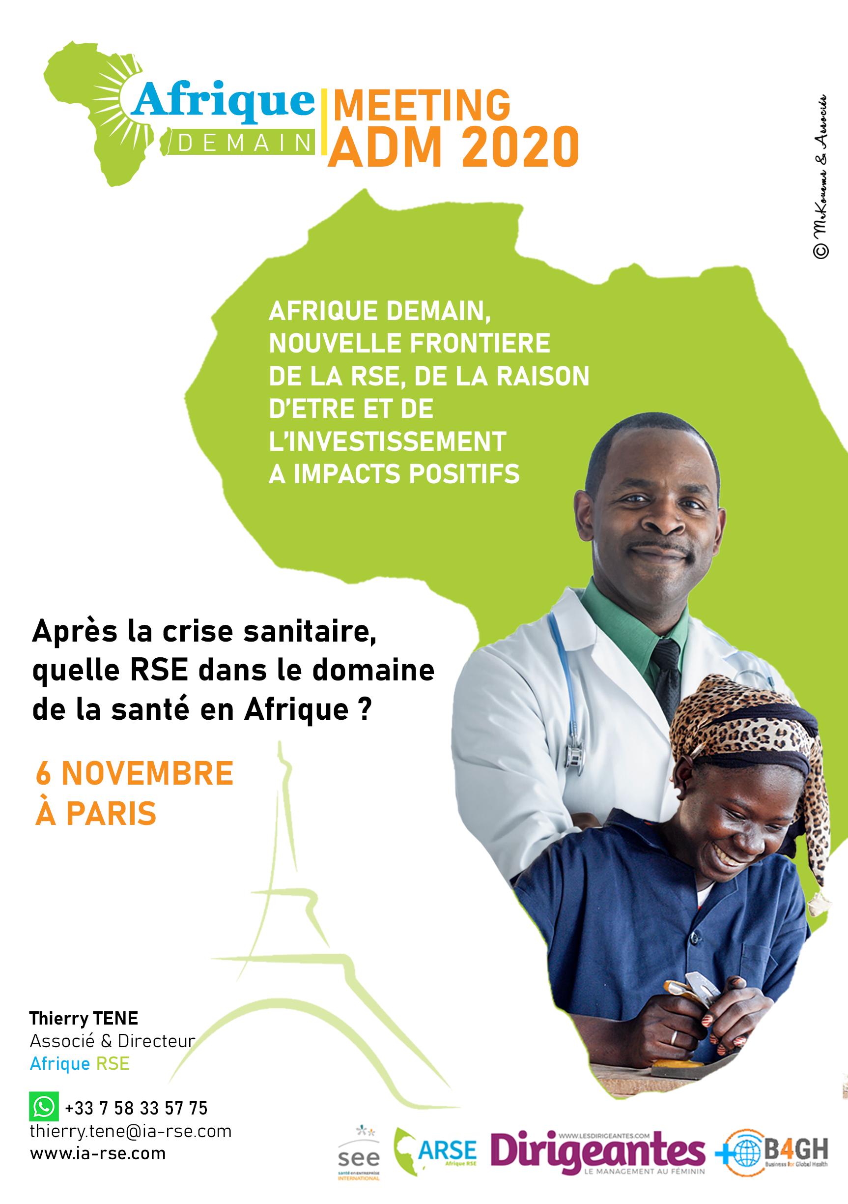 Forum virtuel du 6 novembre sur la RSE dans le domaine de la santé en Afrique : Programme et inscription