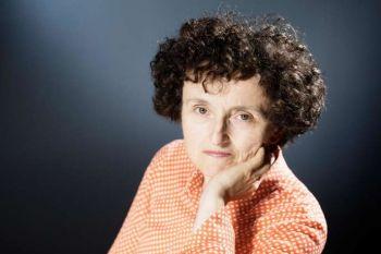 Marie-Hélène Lafon, 58 ans, peu connue du grand public, est une autrice au long CV, avec déjà 13 romans à son actif. JOEL SAGET / AFP