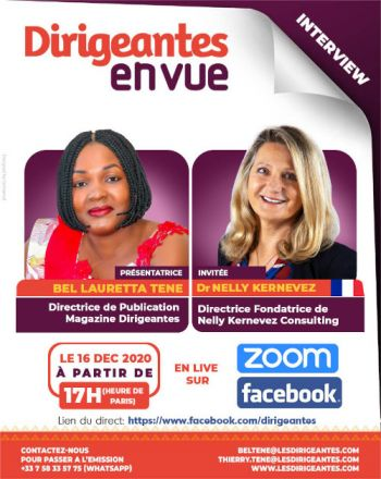 Interview exclusive  Dr Nelly Kernevez, Directrice Fondatrice de Nelly Kernevez Consulting