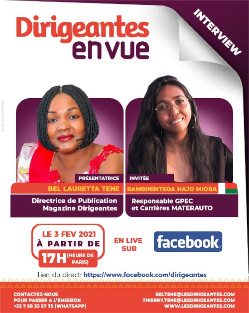 Interview exclusive, RAMBININTSOA Hajo Miora, la Responsable GPEC et Carrières de MATERAUTO