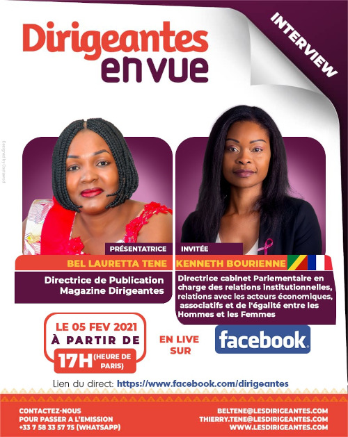 Interview exclusive Kenneth BOURIENNE, Directrice de cabinet Parlementaire