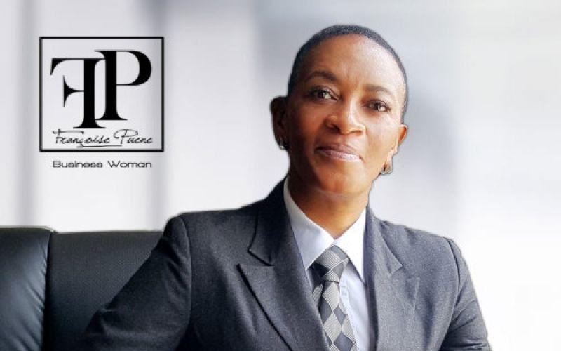 Françoise PUENE, alias mamy nyanga, Femme d'affaires et PDG de l'hôtel FRANCO