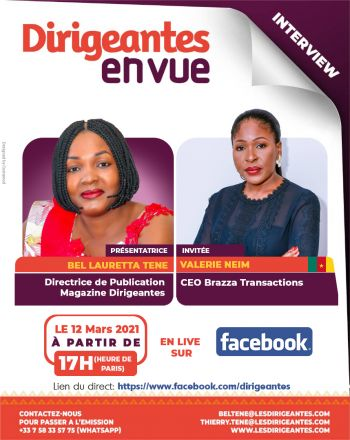 Interview exclusive Valérie NEIM, CEO Brazza Transactions