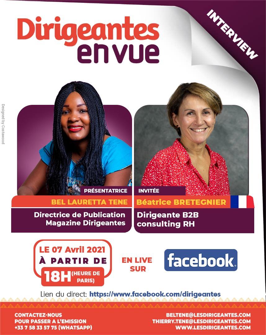 Interview exclusive, Béatrice BRETEGNIER, Dirigeante de B2B Consulting RH