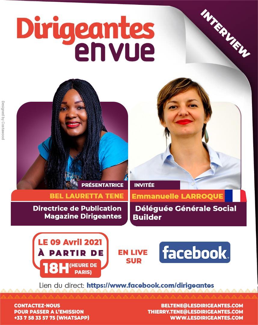 Interview exclusive Emmanuelle LARROQUE, Déléguée Générale de Social Builder