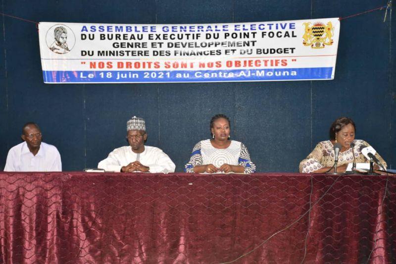 Tchad : Toudjim Yonodji élue présidente du point focal genre du ministère des Finances