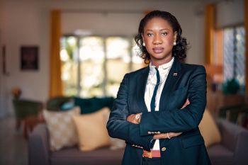 La panafricaine Mareme MBAYE, première femme Directrice Générale de Société Générale Cameroun nommée Directrice Régionale Afrique Centrale et de l'Est de Société Générale